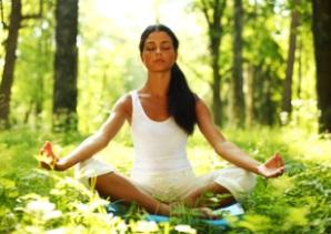 lotus yoga sunrise